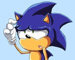 Challenger Approaching Sonic